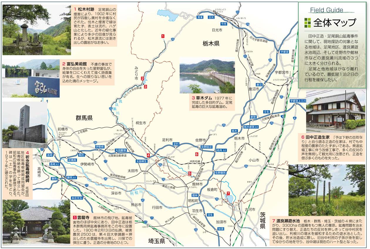 Field Guide 全体マップ   田中...