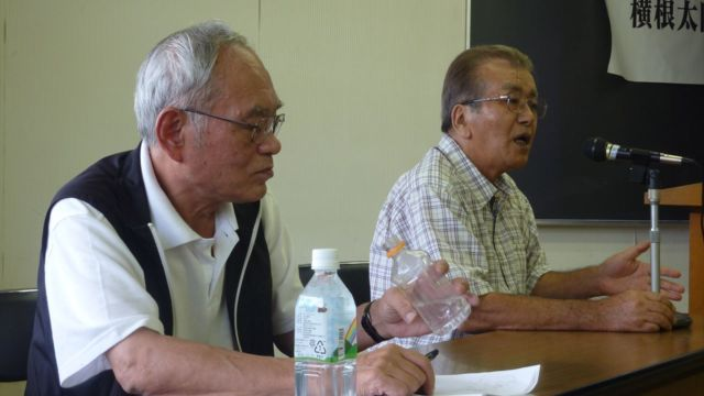 横根高原の自然を守る日光市民の会の富岡洋一郎さんも駆けつけてきた