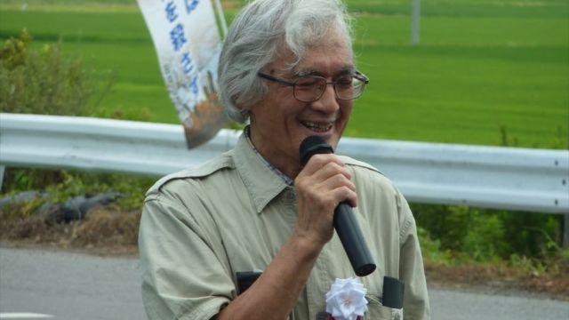 お祝いに駆けつけてくれた安在邦夫早稲田大学名誉教授
